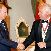 Путин ВВ и Лисицын АИ
