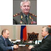 Путин ВВ и Варенников ВИ