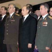 Варенников ВИ, Путин ВВ, Громов БВ