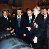 Путин ВВ г.Снежинск 2000 ф-02