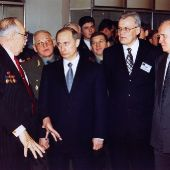 Путин ВВ г.Снежинск 2000 ф-01